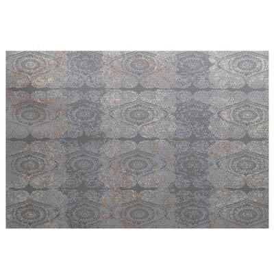 Soluri Gray Indoor/Outdoor Area Rug Rug Size: 2' x 3'
