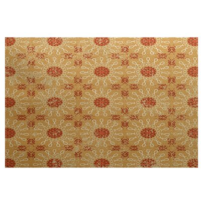 Soluri Gold / Orange Indoor/Outdoor Area Rug
