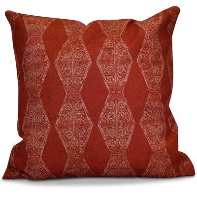 Soluri Pyramid Striped Geometric Euro Pillow