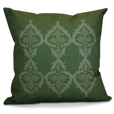 Soluri Geometric Throw Pillow Size: 18 H x 18 W x 2 D, Color: Green