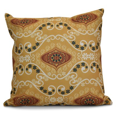 Soluri Illuminate Geometric Throw Pillow Size: 20 H x 20 W x 2 D, Color: Gold