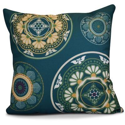 Soluri Medallions Geometric Euro Pillow