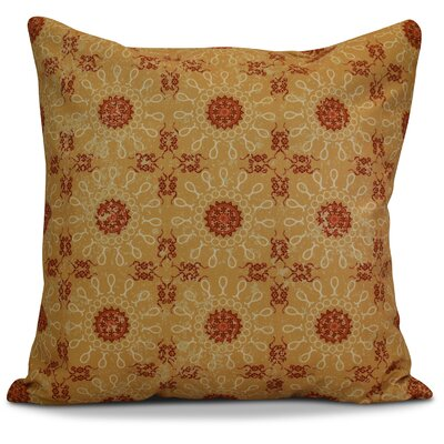 Soluri Sun Tile Geometric Throw Pillow Size: 16