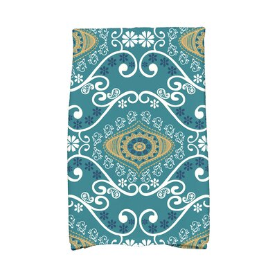 Soluri Illuminate Abstract Hand Towel Color: Blue