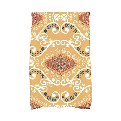 Soluri Illuminate Abstract Hand Towel Color: Gold