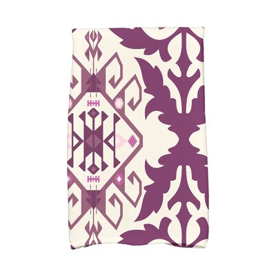 Soluri 6 Abstract Hand Towel Color: Purple