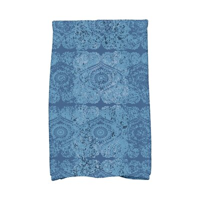 Soluri Patina Abstract Hand Towel Color: Blue