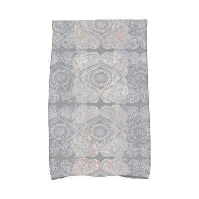 Soluri Patina Abstract Hand Towel Color: Gray