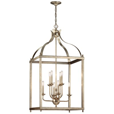 Bovill 8-Light Candle-Style Chandelier
