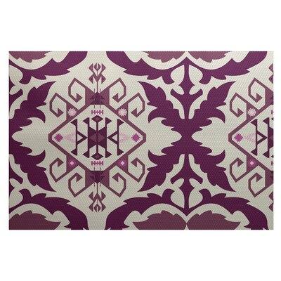 Soluri Purple Indoor/Outdoor Area Rug