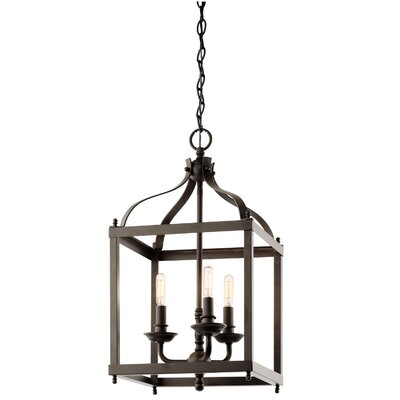 Bovill 3-Light Foyer Pendant Finish: Olde Bronze