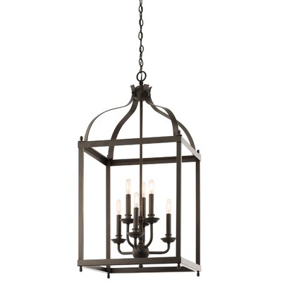 Bovill 6-Light Foyer Pendant Finish: Olde Bronze
