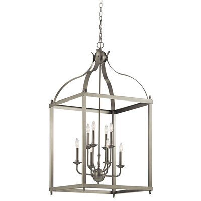 Celestine 8-Light Foyer Pendant Finish: Brushed Nickel