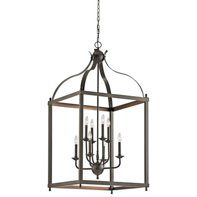 Celestine 8-Light Foyer Pendant Finish: Olde Bronze