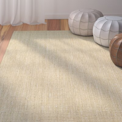 Damia Hand-Crafted Sand Area Rug Rug Size: Runner 23 x 71