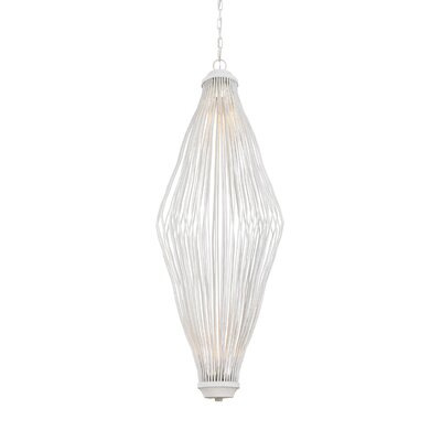 Meredith 2-Light LED Oval Shade Geometric Pendant