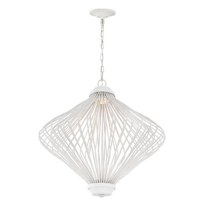 Meredith 2-Light LED Geometric Pendant