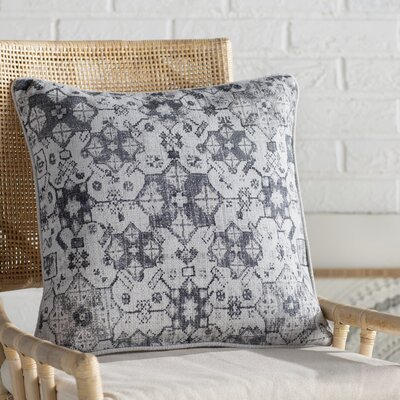 Gardner Square Cotton Throw Pillow Size: 20