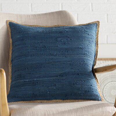 Yarrow Throw Pillow Color: Dark Blue