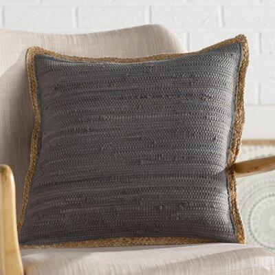 Yarrow Throw Pillow Color: Dark Gray