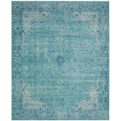 Esmeyer Blue Area Rug Rug Size: 4 x 6