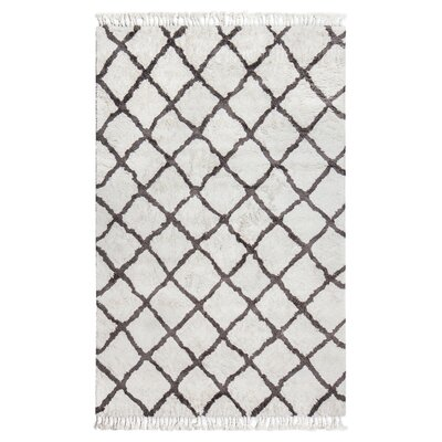 Kenley Ivory Area Rug Rug Size: 5 x 8