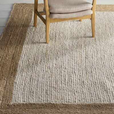 Bastian Beige/Brown Area Rug Rug Size: 8 x 10