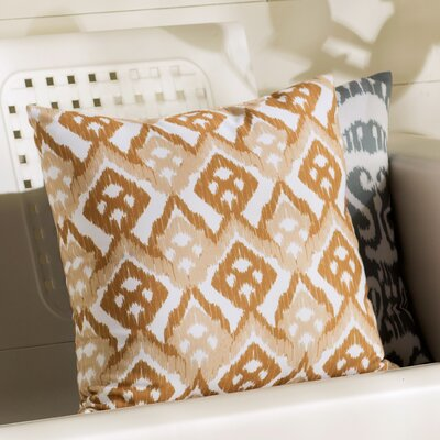Sabrina Geometric Outdoor Throw Pillow Size: 18