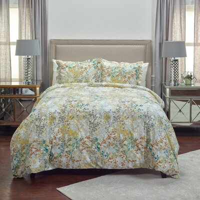 3 Piece Duvet Set Size: King
