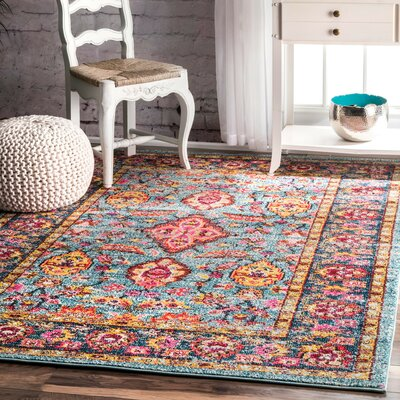 Delphine  Area Rug Rug Size: Rectangle 4 x 6
