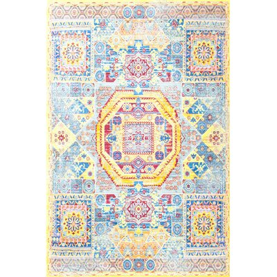 Jaydon Yellow Area Rug Rug Size: Rectangle 53 x 710