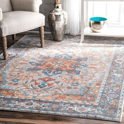 Camron Gray Area Rug Rug Size: Runner 26 x 8