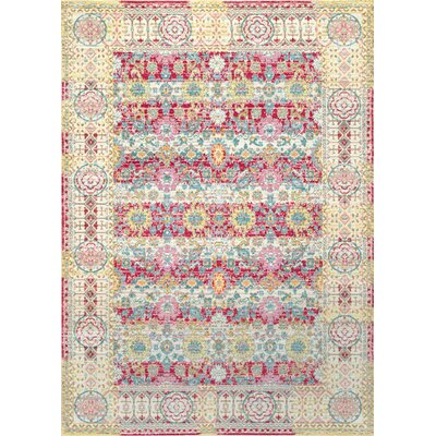 Barrett Cherry Pink Area Rug Rug Size: Rectangle 710 x 1010