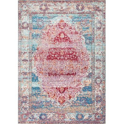 Remington Cherry Pink Area Rug