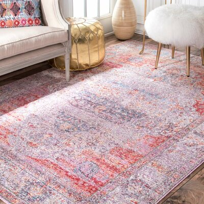 Chayne Blush Area Rug Rug Size: Rectangle 10 x 14