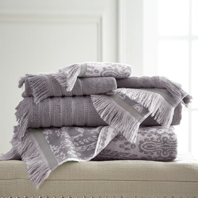 6 Piece Towel Set Color: Ash Gray