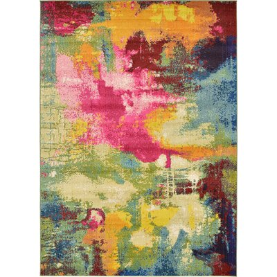 Aquarius Area Rug Rug Size: Rectangle 33 x 53