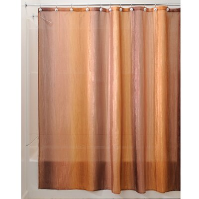 Park Shower Curtain Color: Brown/Gold