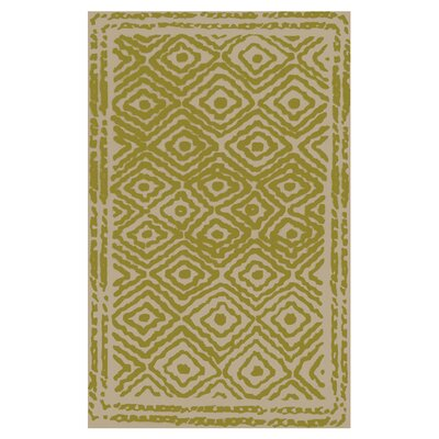 Sala Lime Area Rug Rug Size: Rectangle 8 x 11