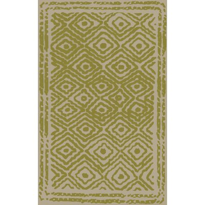 Sala Lime Area Rug Rug Size: Rectangle 5 x 8