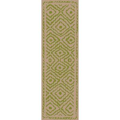 Sala Lime Area Rug Rug Size: Runner 26 x 8