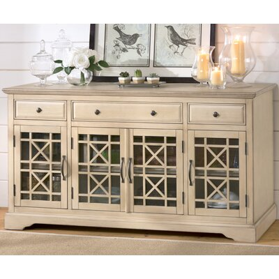 Daisi 60 TV Stand Color: Cream