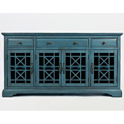 Daisi 60 TV Stand Color: Antique Blue