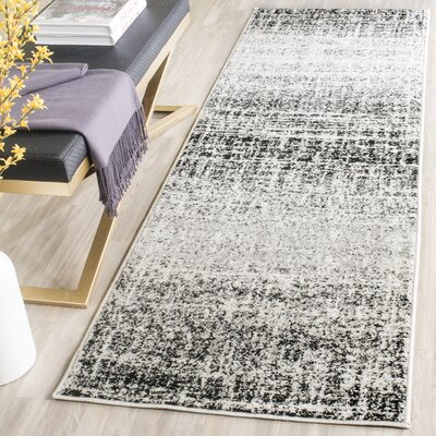 Norwell Gray/Black Area Rug