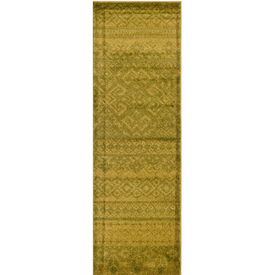 Norwell Green / Dark Green Area Rug