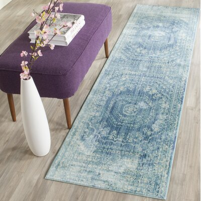 Doline Blue Area Rug Rug Size: Rectangle 6 x 9