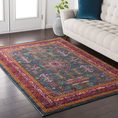 Nichole Area Rug Rug Size: Rectangle 53 x 73
