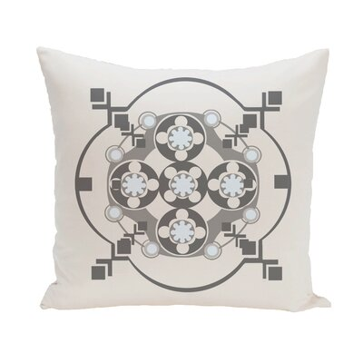 Shivani Geometric Print Outdoor Pillow Color: Paloma, Size: 20 H x 20 W x 1 D