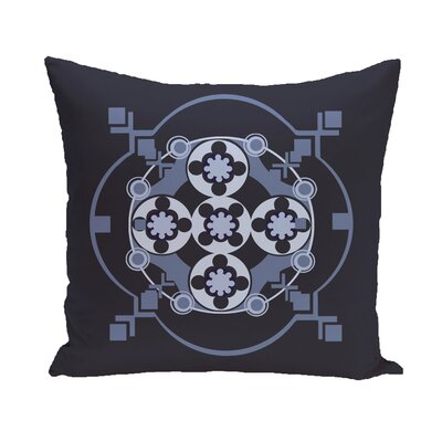 Shivani Geometric Print Outdoor Pillow Color: Bewitching, Size: 18 H x 18 W x 1 D