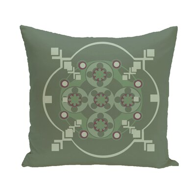 Shivani Geometric Print Outdoor Pillow Size: 20 H x 20 W x 1 D, Color: Herb Green